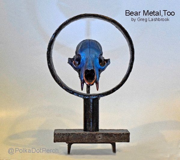 Bear Metal Too sculpture by Gregory Lashbrook